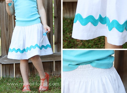 ric-rac skirt