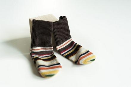 Made by Joel DIY Baby Socks 1